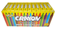 JoJo Crayon - Sour Liquid Filled Bubble Gum, by JoJo,  and more Confectionery at The Professors Online Lolly Shop. (Image Number :8390)
