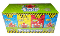 JoJo Sour Bombs - Assorted Flavours, by JoJo,  and more Confectionery at The Professors Online Lolly Shop. (Image Number :8389)