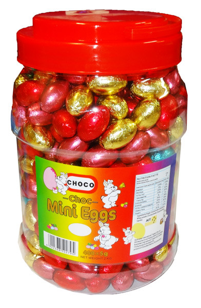 Choco Mini Eggs and more Confectionery at The Professors Online Lolly Shop. (Image Number :8379)