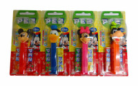 Pez Candy Dispensers - Mickey Clubhouse (6 x 17g)