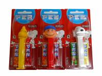 Pez Candy Dispensers - Peanuts (6 x 17g)