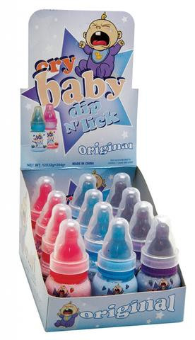 Cry Baby Dip n Lick and more Confectionery at The Professors Online Lolly Shop. (Image Number :14911)