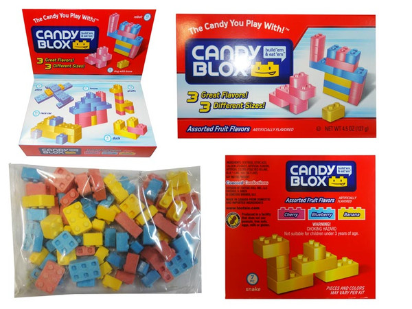 Candy Blox Box and more Confectionery at The Professors Online Lolly Shop. (Image Number :8507)