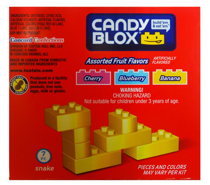 Candy Blox Box and more Confectionery at The Professors Online Lolly Shop. (Image Number :8509)