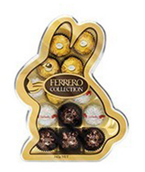 Ferrero Bunny Collection, by Ferrero,  and more Confectionery at The Professors Online Lolly Shop. (Image Number :8486)