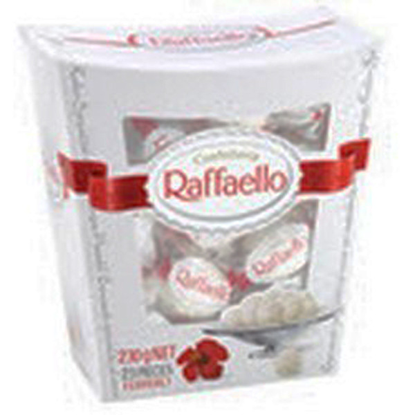 Ferrero Raffaello Box, by Ferrero,  and more Confectionery at The Professors Online Lolly Shop. (Image Number :8480)