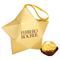 Ferrero Rocher Star, by Ferrero,  and more Confectionery at The Professors Online Lolly Shop. (Image Number :8477)