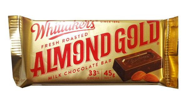 Whittakers Almond Slab, by Whittakers,  and more Confectionery at The Professors Online Lolly Shop. (Image Number :8581)