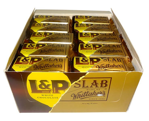Whittakers L&P Slab, by Whittakers,  and more Confectionery at The Professors Online Lolly Shop. (Image Number :9785)