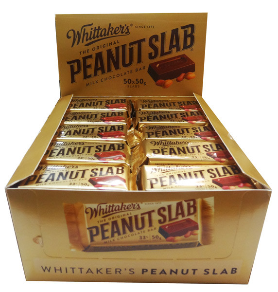 Whittakers Peanut Slab, by Whittakers,  and more Confectionery at The Professors Online Lolly Shop. (Image Number :8572)