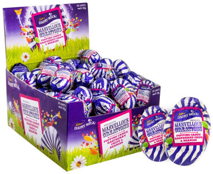 Cadbury Marvellous Creation Eggs, by Cadbury,  and more Confectionery at The Professors Online Lolly Shop. (Image Number :9209)