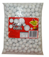 Lolliland Choc Balls - White, by Lolliland,  and more Confectionery at The Professors Online Lolly Shop. (Image Number :8632)