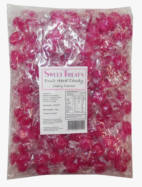 Sweet Treats Fruit Hard Candy - Hot Pink, by Brisbane Bulk Supplies,  and more Confectionery at The Professors Online Lolly Shop. (Image Number :8570)