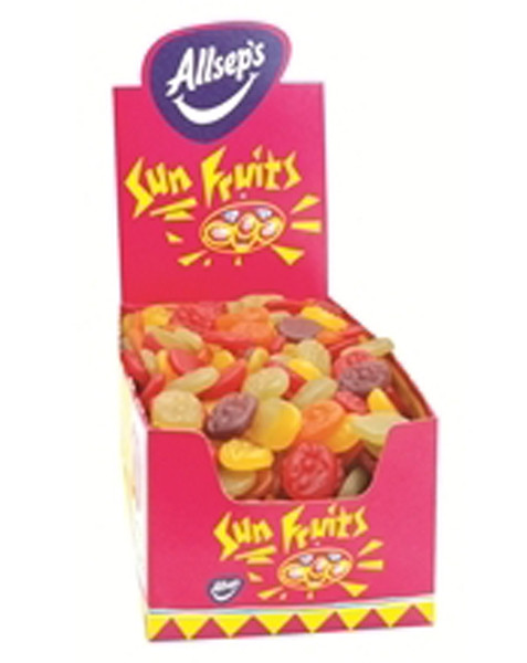 Allseps Sunfruits - Faces, by Allseps,  and more Confectionery at The Professors Online Lolly Shop. (Image Number :8665)