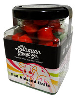 Aniseed Balls - Red (160g Jar)