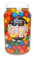 Gobstopper Jar - Long Lasting, by The Australian Sweet Company,  and more Confectionery at The Professors Online Lolly Shop. (Image Number :9768)