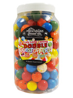 Gobstopper Jar - Double Long lasting, by The Australian Sweet Company,  and more Confectionery at The Professors Online Lolly Shop. (Image Number :8904)