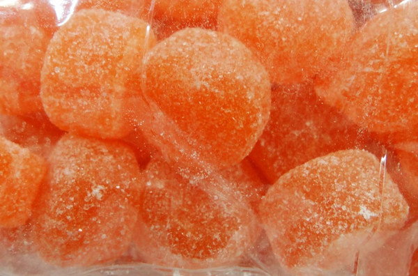 Sweet Treats Jubes - Orange, by Brisbane Bulk Supplies,  and more Confectionery at The Professors Online Lolly Shop. (Image Number :8818)