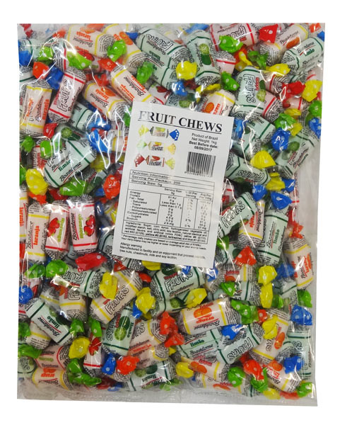 Sweet Treats Fruit Chews Printed Wrapper Now Available