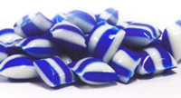 Rock Candy Pillows - Dark Blue with a Raspberry Flavour, by Designer Candy,  and more Confectionery at The Professors Online Lolly Shop. (Image Number :9092)