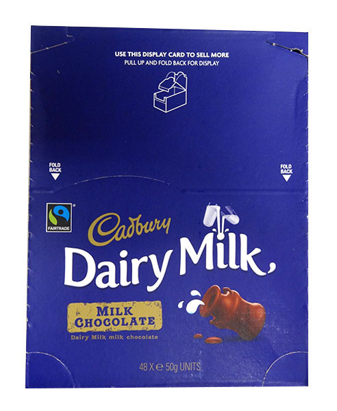 Cadbury Dairy Milk Original Bar, by Cadbury,  and more Confectionery at The Professors Online Lolly Shop. (Image Number :10094)