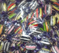 Liquorice Satin, by AIT Confectionery,  and more Confectionery at The Professors Online Lolly Shop. (Image Number :9289)