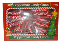BBS - Mini Peppermint  Candy Cane Box, by Brisbane Bulk Supplies,  and more Confectionery at The Professors Online Lolly Shop. (Image Number :9424)