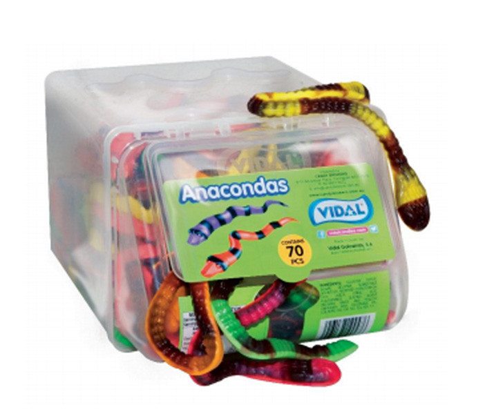 Vidal Anacondas, by vidal,  and more Confectionery at The Professors Online Lolly Shop. (Image Number :8923)