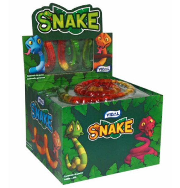 Vidal 1 metre Snakes, by vidal,  and more Confectionery at The Professors Online Lolly Shop. (Image Number :8924)