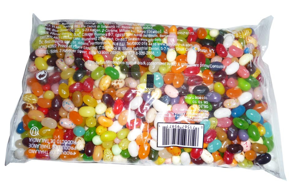 Jelly Belly - Gourmet Jelly Beans - 50 flavours mix, by Jelly Belly,  and more Confectionery at The Professors Online Lolly Shop. (Image Number :8987)
