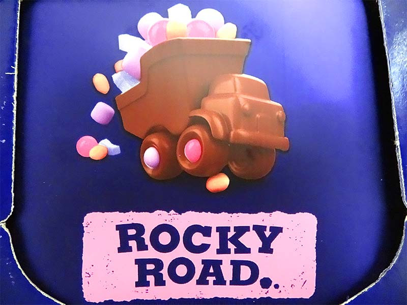 Cadbury Dairy Milk Rocky Road Family Blocks, by Cadbury,  and more Confectionery at The Professors Online Lolly Shop. (Image Number :11717)