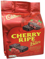 Cadbury Cherry Ripe Bites, by Cadbury,  and more Confectionery at The Professors Online Lolly Shop. (Image Number :9264)