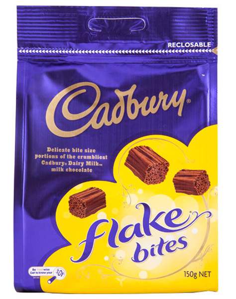 Cadbury Flake Bites, by Cadbury,  and more Confectionery at The Professors Online Lolly Shop. (Image Number :9274)