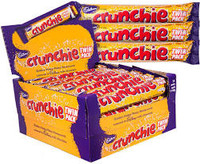 Cadbury Crunchie King Size (80g Bar x 24pc box)