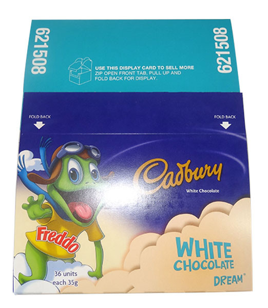 Cadbury Giant Dream Freddo Frogs, by Cadbury,  and more Confectionery at The Professors Online Lolly Shop. (Image Number :9759)