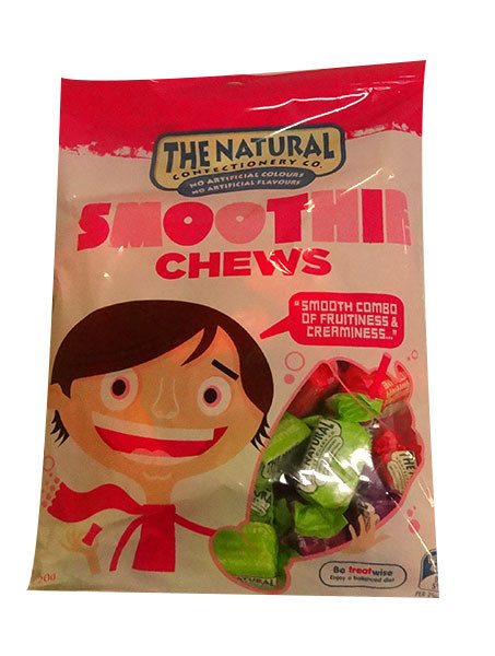 The Natural Confectionery Co. - Chews - Smoothie, by The Natural Confectionery Co.,  and more Confectionery at The Professors Online Lolly Shop. (Image Number :9983)