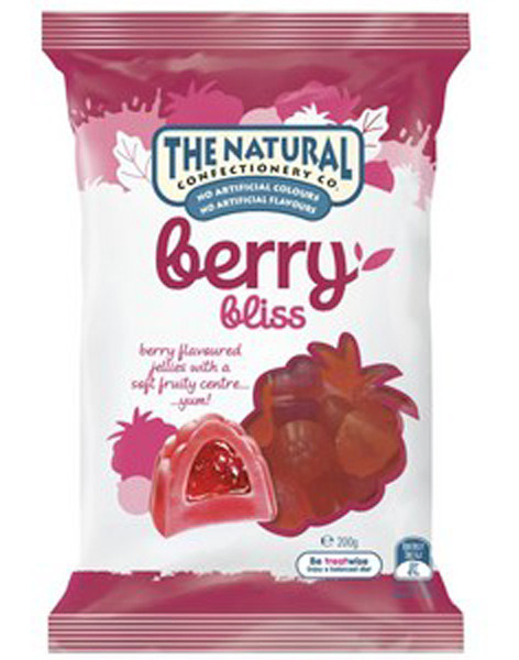 The Natural Confectionery Co. - Berry Bliss, by The Natural Confectionery Co.,  and more Confectionery at The Professors Online Lolly Shop. (Image Number :9301)