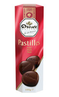 Droste Rolls Dark Chocolate and more Confectionery at The Professors Online Lolly Shop. (Image Number :9228)