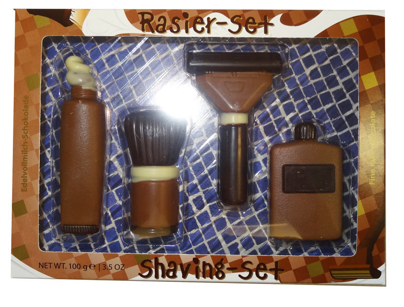 Baur Chocolate Shaving Set, by Baur Chocolat,  and more Confectionery at The Professors Online Lolly Shop. (Image Number :9440)
