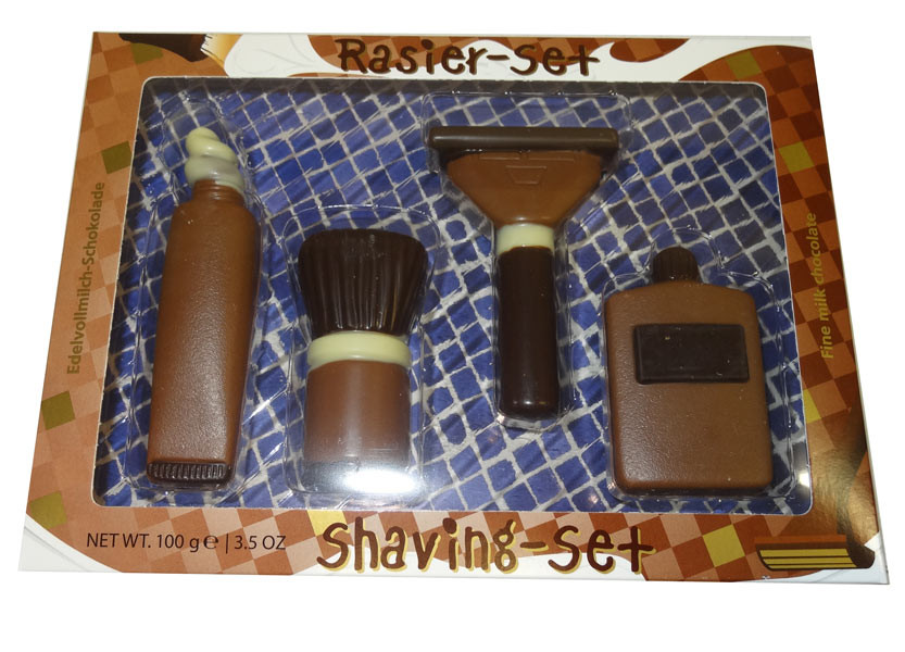 Baur Chocolate Shaving Set, by Baur Chocolat,  and more Confectionery at The Professors Online Lolly Shop. (Image Number :9441)