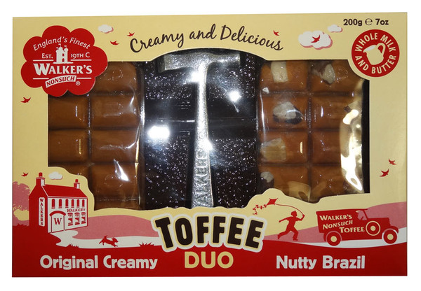 Walkers Original Creamy Toffee Break Duo with Hammer, by Walker's Nonsuch,  and more Confectionery at The Professors Online Lolly Shop. (Image Number :9439)
