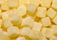 Tilleys Cubes - Pineapple, by Tilleys,  and more Confectionery at The Professors Online Lolly Shop. (Image Number :9235)