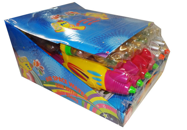 Air Space Water Gun with Jelly Beans, by AIT Confectionery,  and more Confectionery at The Professors Online Lolly Shop. (Image Number :9636)