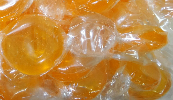 Double D - Sugar Free Hard Fruit Candy - Orange, by Double D Confectionery,  and more Confectionery at The Professors Online Lolly Shop. (Image Number :9493)