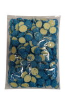 Custom Choc - White Choc Jewels with Blue Speckles, by Custom Choc,  and more Confectionery at The Professors Online Lolly Shop. (Image Number :9664)