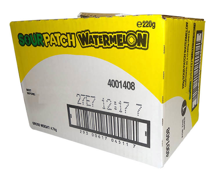 Sour Patch Kids - Watermelon, by Other,  and more Confectionery at The Professors Online Lolly Shop. (Image Number :11455)