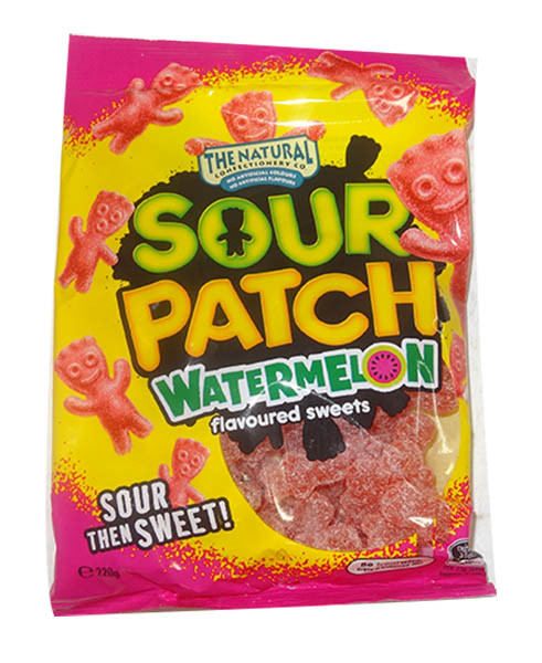 Sour Patch Kids - Watermelon, by Other,  and more Confectionery at The Professors Online Lolly Shop. (Image Number :9850)