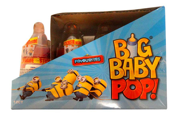Big Baby Pop - Despicable Me 3  Edition, by Myriad Marketing,  and more Confectionery at The Professors Online Lolly Shop. (Image Number :10534)