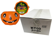 Monster Mates - Pumpkin Head  filled with Compressed Candy, by AIT Confectionery,  and more Confectionery at The Professors Online Lolly Shop. (Image Number :9390)
