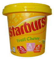 Starburst Bucket - Fruit Chews, by Starburst,  and more Confectionery at The Professors Online Lolly Shop. (Image Number :9549)